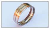Pieces made by students - Baldomero - Mokume Gane Ring