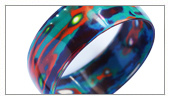 Bracelet with Japanese lacquer COLLECTION - Bracelet with Japanese lacquer application